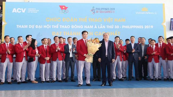 Đoàn Thể thao Việt Nam lên đường tranh tài tại SEA Games 30 - Ảnh 3.