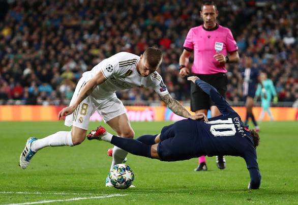 Real Madrid đánh mất chiến thắng dù dẫn trước PSG 2-0 - Ảnh 1.