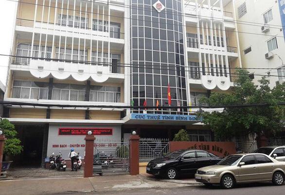 Cảnh cáo cục phó Cục Thuế tỉnh Bình Định Nguyễn Công Thành - Ảnh 1.