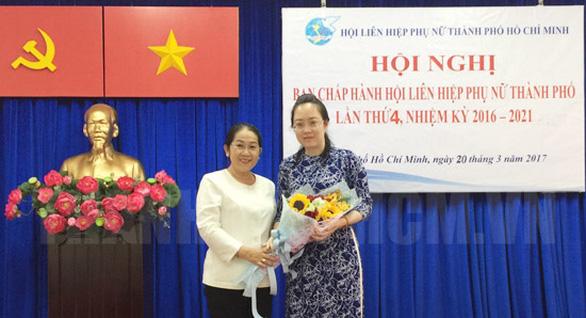 Bà Nguyễn Thị Ngọc Bích thôi giữ chức chủ tịch Hội Liên hiệp phụ nữ Việt Nam TP.HCM - Ảnh 1.