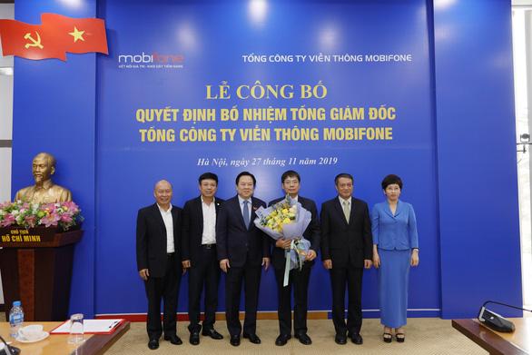 Ông Tô Mạnh Cường làm tổng giám đốc MobiFone - Ảnh 2.