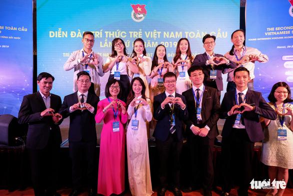 Chính thức khai mạc Diễn đàn Trí thức trẻ Việt Nam toàn cầu lần thứ hai - Ảnh 1.