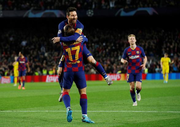 Messi ghi bàn và kiến tạo đẳng cấp, Barca hạ Dortmund đoạt vé đi tiếp - Ảnh 3.