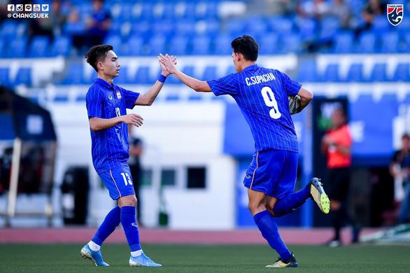 Thắng đậm Brunei, U22 Thái Lan có chiến thắng đầu tiên tại SEA Games - Ảnh 1.