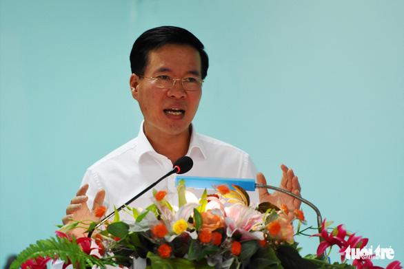 Ông Võ Văn Thưởng: Đeo bám để các cơ quan có thẩm quyền giải quyết cho dân - Ảnh 1.