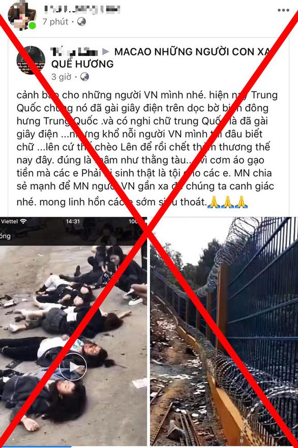 Quảng Ninh bác tin 7 người chết vì điện giật ở biên giới Trung Quốc - Ảnh 1.