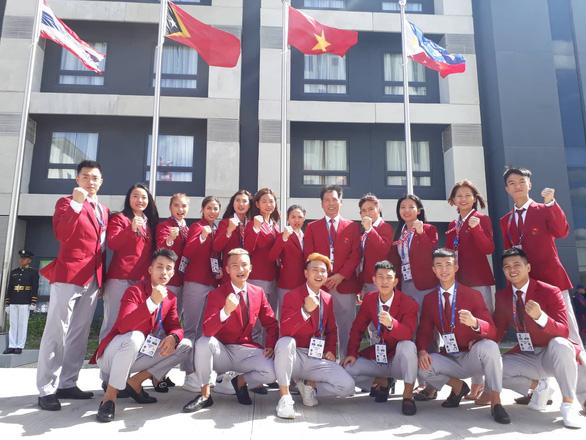 Thượng cờ đoàn Thể thao Việt Nam tại SEA Games 30 - Ảnh 5.