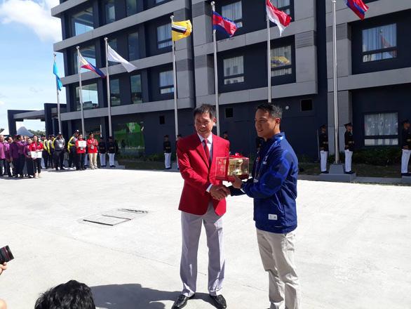 Thượng cờ đoàn Thể thao Việt Nam tại SEA Games 30 - Ảnh 3.