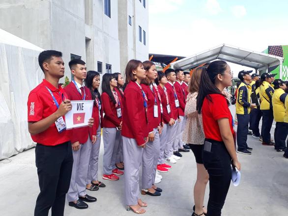 Thượng cờ đoàn Thể thao Việt Nam tại SEA Games 30 - Ảnh 2.