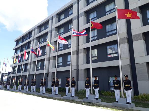 Thượng cờ đoàn Thể thao Việt Nam tại SEA Games 30 - Ảnh 1.