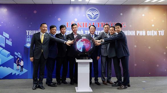 Khai trương Trung tâm một cửa hỗ trợ triển khai Chính phủ điện tử - Ảnh 1.