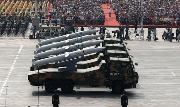 Nhật lo lắng với các dàn tên lửa mạnh của Trung Quốc - Ảnh 1.