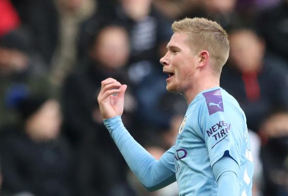 Gặp Newcastle, Manchester City chỉ có được 1 điểm sau 2 lần dẫn bàn - Ảnh 3.