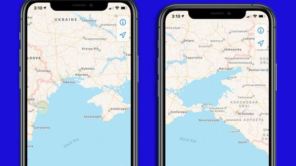 Đánh dấu Crimea thuộc Nga, Apple muốn lấn sân sang chính trị? - Ảnh 2.