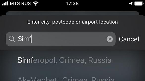 Đánh dấu Crimea thuộc Nga, Apple muốn lấn sân sang chính trị? - Ảnh 1.