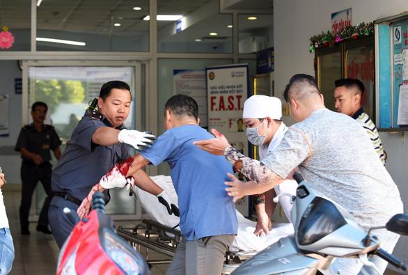 15 phút hóa giải 2 nhóm giang hồ truy sát nhau trong Bệnh viện Gia Định - Ảnh 1.