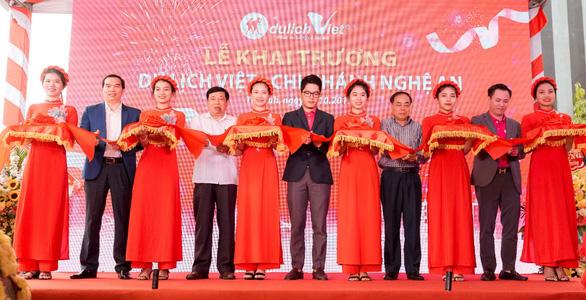 Đồng loạt khai trương du lịch Việt tại Vũng Tàu và Nghệ An - Ảnh 2.