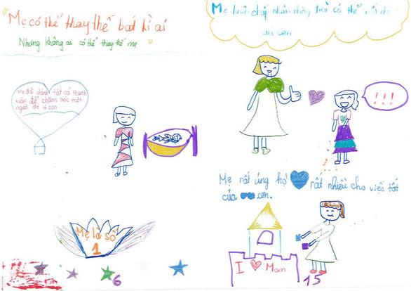 Cô bé lớp 3 làm sách bằng cả trái tim tặng mẹ - Ảnh 9.