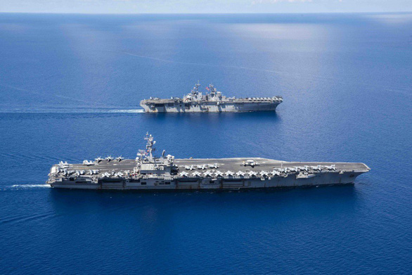 Trung Quốc đáp trả: Mỹ nên bớt huyên thuyên về Biển Đông - Ảnh 2.