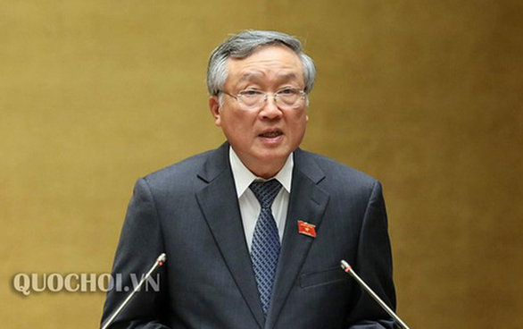 Chánh án Nguyễn Hòa Bình tiếp tục trả lời Quốc hội 'kỳ án' gỗ trắc - Ảnh 1.