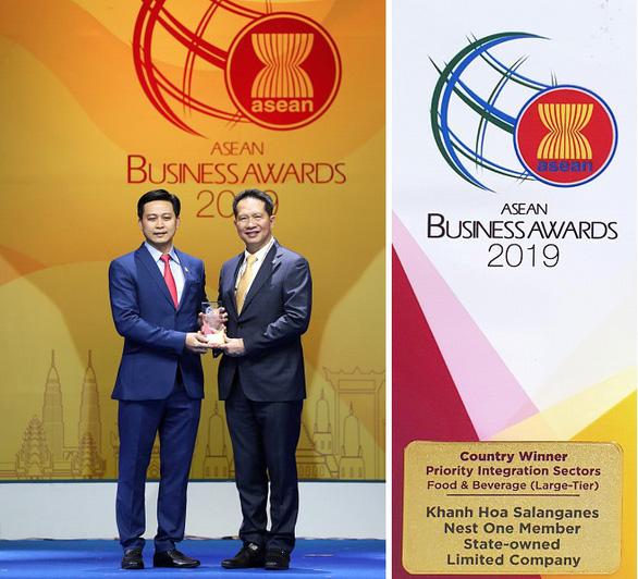 Công ty Yến sào Khánh Hòa nhận giải thưởng Doanh nghiệp ASEAN (ABA) - Ảnh 1.