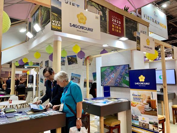 Saigontourist tham gia Hội chợ du lịch  WTM London 2019 - Ảnh 1.