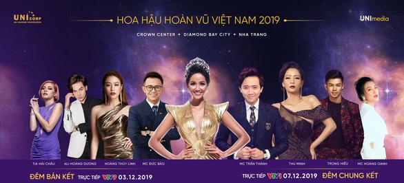 Thu Minh, Trọng Hiếu diễn tại chung kết Hoa hậu Hoàn vũ Việt Nam 2019 - Ảnh 3.