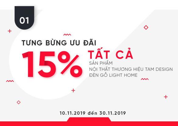 Thước Tầm Group ra mắt thương hiệu TAM Design và Light Home, ưu đãi lớn - Ảnh 2.