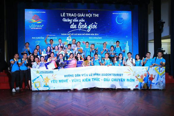 Hướng dẫn viên Lữ hành Saigontourist ba lần liên tiếp được vinh danh - Ảnh 1.
