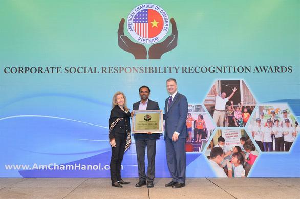 AmCham vinh danh các doanh nghiệp có hoạt động trách nhiệm xã hội - Ảnh 1.