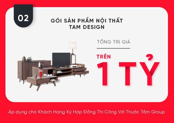 Thước Tầm Group ra mắt thương hiệu TAM Design và Light Home, ưu đãi lớn - Ảnh 3.