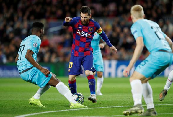 Messi 'tịt ngòi', Barcelona bị Slavia Prague cầm chân tại Nou Camp - Ảnh 1.
