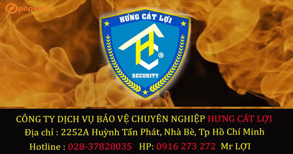 Công ty bảo vệ Hưng Cát Lợi giới thiệu dịch vụ - Ảnh 1.