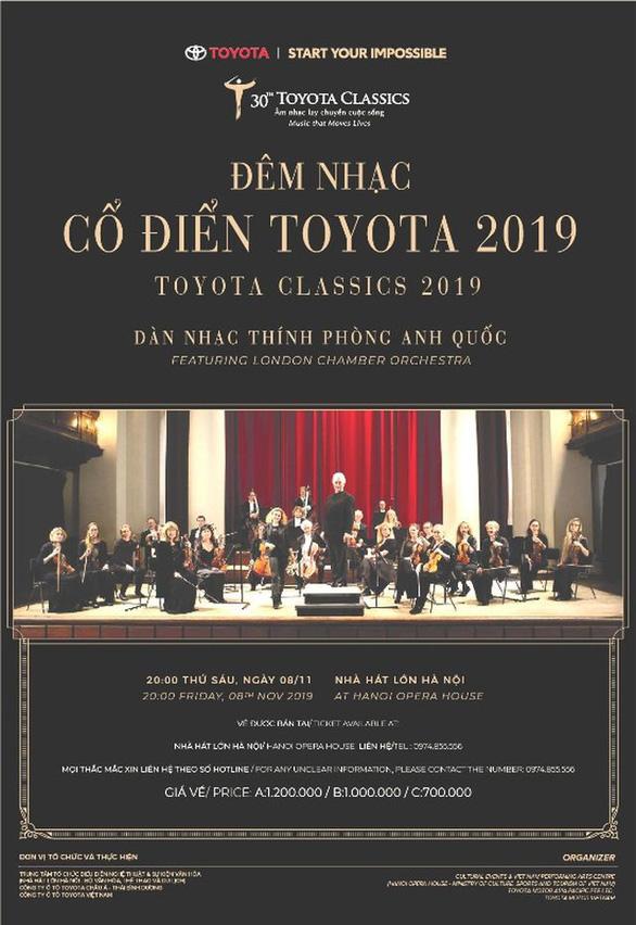 Toyota Classics 2019: Nuôi dưỡng đam mê cho tài năng trẻ âm nhạc Việt Nam - Ảnh 1.