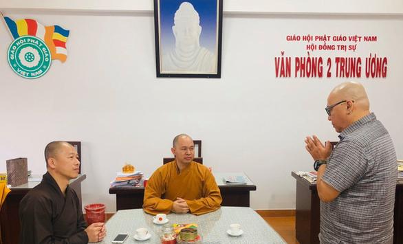 Xúc phạm Phật giáo, một tiến sĩ sám hối - Ảnh 1.