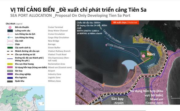 Đề xuất không làm cảng Liên Chiểu, chỉ phát triển Tiên Sa bị… chê - Ảnh 3.