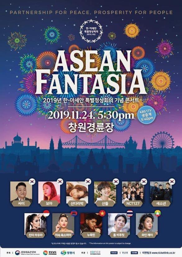 Noo Phước Thịnh trình diễn tại Hội nghị thượng đỉnh Hàn Quốc - ASEAN - Ảnh 2.
