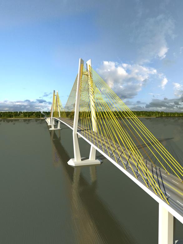 Đầu tư xây cầu Rạch Miễu 2 sẽ gần 5.000 tỉ đồng - Ảnh 2.