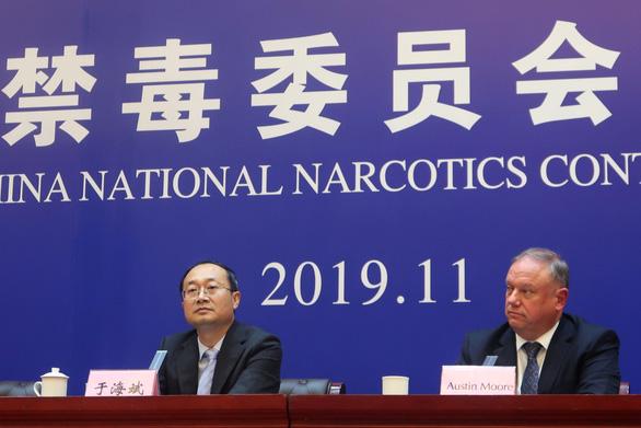 Lần đầu tiên Trung Quốc cho Mỹ cùng ngồi tòa xử tử hình kẻ buôn fentanyl - Ảnh 1.