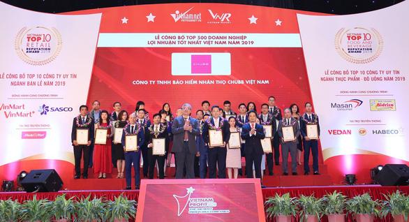 Chubb Life Việt Nam có tên trong Top 500 doanh nghiệp lợi nhuận tốt nhất Việt Nam - Ảnh 1.