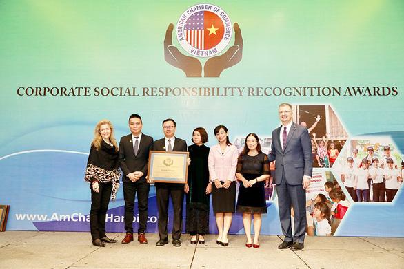 Herbalife Việt Nam vinh dự nhận Giải thưởng Trách nhiệm Xã hội Doanh nghiệp 2019 từ AMCHAM - Ảnh 1.