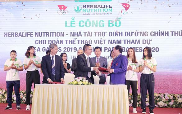Herbalife Nutrition tài trợ cho vận động viên Việt Nam tham dự SEA Games 2019 và ASEAN Para Games 20 - Ảnh 1.