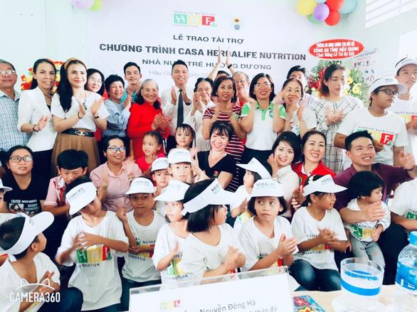 Quỹ Herbalife Nutrition Foundation (HNF) tiếp tục hỗ trợ dinh dưỡng cho trẻ em có hoàn cảnh khó khăn - Ảnh 2.