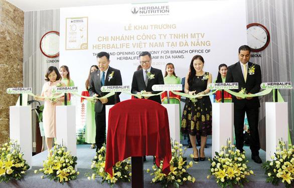 Herbalife Việt Nam khai trương văn phòng mới tại Đà Nẵng - Ảnh 1.