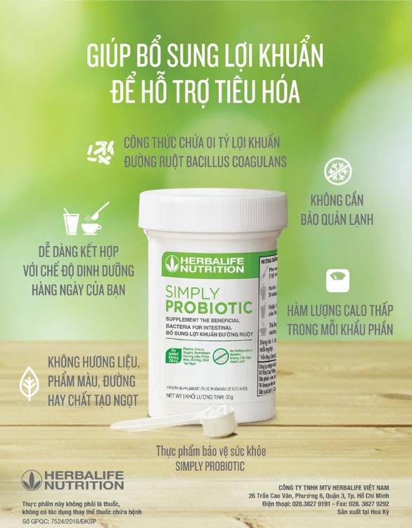 Thực phẩm bảo vệ sức khỏe Simply Probiotic - Ảnh 1.