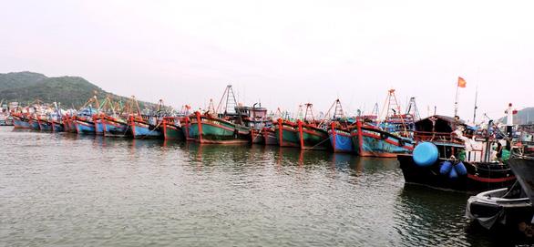 700 tàu cá xa bờ các tỉnh về trú cảng Hòn Rớ trước bão số 6 - Ảnh 1.