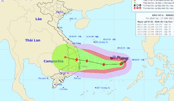Thủ tướng yêu cầu các địa phương ứng phó khẩn cấp với bão số 6 - Ảnh 1.