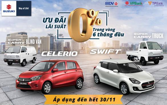 Kỷ niệm 25 năm thành lập, Suzuki ưu đãi lớn cho khách hàng - Ảnh 1.