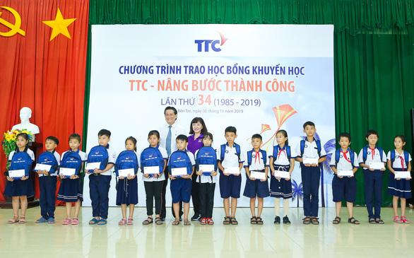 TTC tăng cường hỗ trợ học sinh Bến Tre - Ảnh 2.