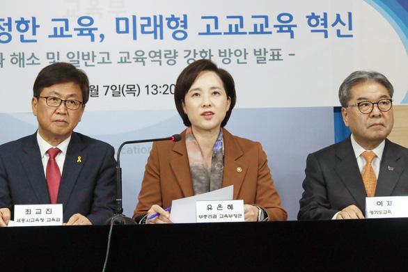 Hàn Quốc dẹp sạch trường học dành cho con nhà giàu - Ảnh 1.